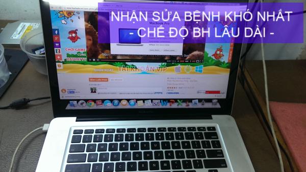 Các địa điểm sửa Macbook uy tín TP. Hồ Chí Minh chuyên nghiệp