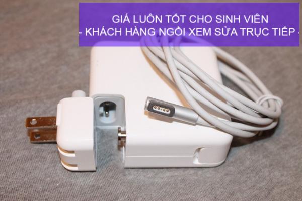 Nhận sửa Adapter Macbook Pro sạc không vô lấy ngay tại TP HCM