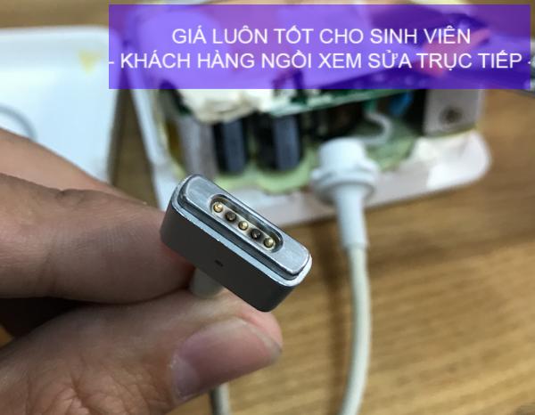 Nơi sửa chân sạc Macbook giá tốt lấy ngay tại Hồ Chí Minh